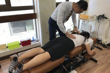 脊骨矯正療法